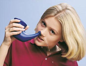 3. Thường xuyên rửa sạch xoang mũi: 1