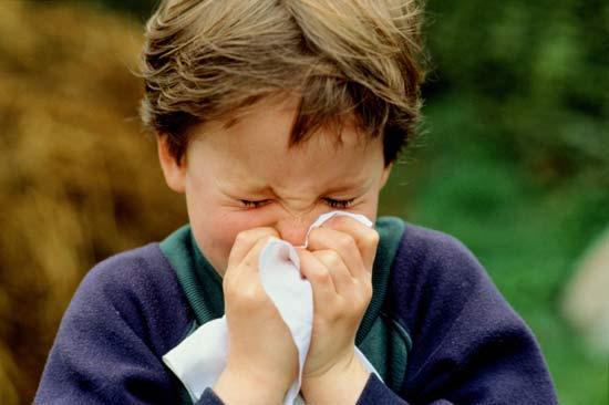 Mẹo trị nghẹt mũi cho bé 1