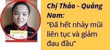 Hàng ngàn người Việt đã hết Viêm xoang dị ứng bằng cách nào? 9