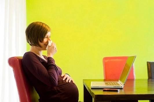 Sổ mũi khi mang thai và cách chữa 1