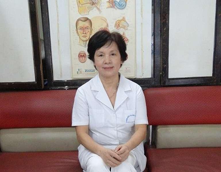 May mắn khi gặp được PGS.TS Nguyễn Thị Ngọc Dinh 1
